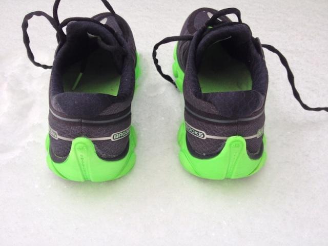 Arrière de la chaussure