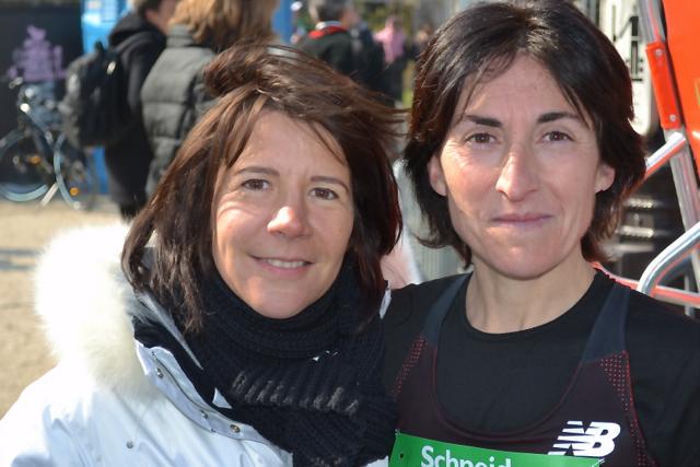 Avec Cécile - photographe amicale et X-Runneuse !