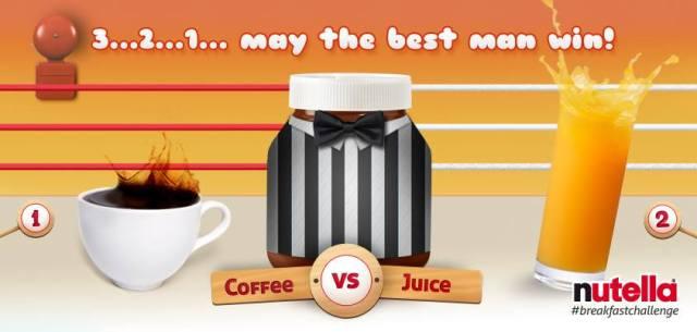 Café ou jus d'orage ? les deux, tant que le café est sucré !