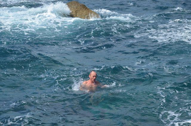 Allez hop, à l'eau !