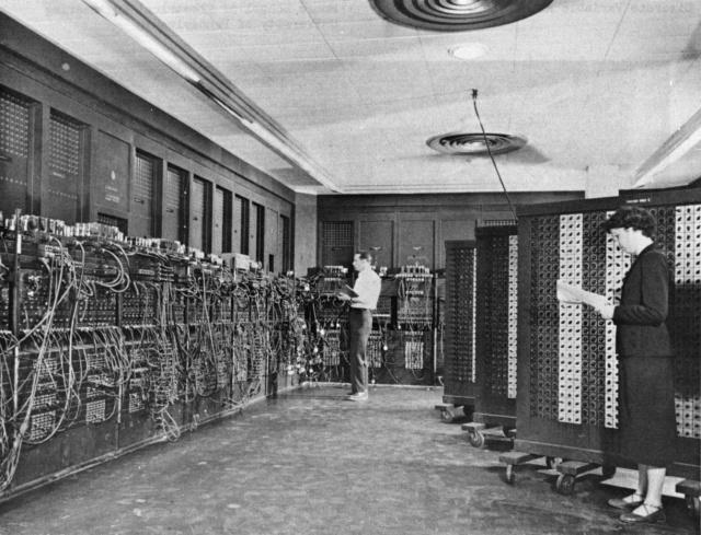 L'ancêtre commun de tous les ordinateurs : l'ENIAC