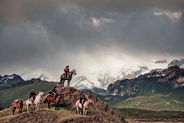Gauchos en montagne (c) Jimmy Nelson