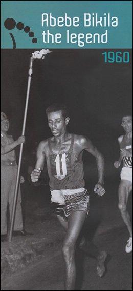 Abebe Bilika en 1960, pieds nus ...