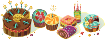 Happy Birthday from Google !