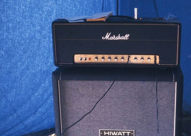 Marshall Artist 50W et Hiwatt 4x12