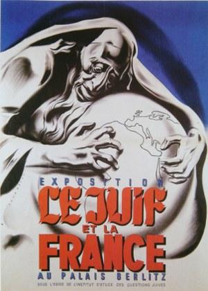 """Exposition """"le juif et la france"""" en 1940"""