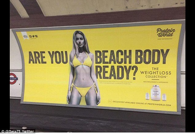 ARE YOU BEACH BODY READY ?