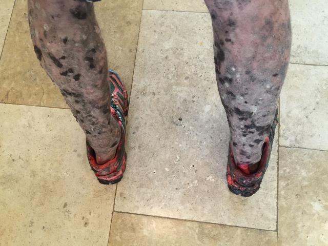 50 shades of mud :-)