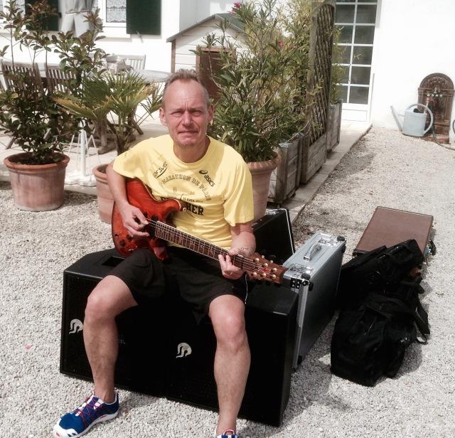 50 kilos ... sans les guitares !