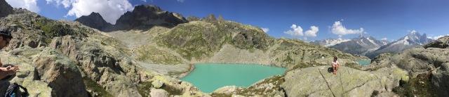 Panoramique du Lac Blanc