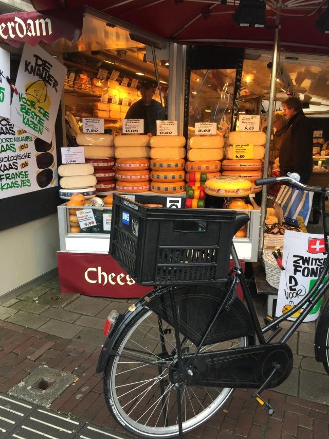 Vélo et fromage
